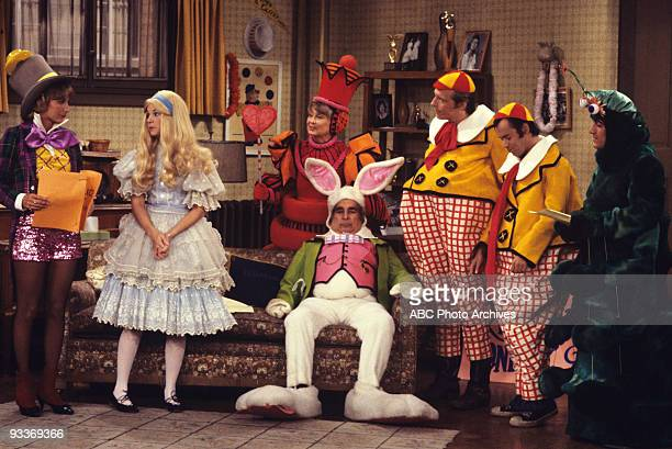 LAVERNE SHIRLEY 'Shirley's Operation' season 3 12/6/77 The gang rehearses for 'Alice in Wonderland' but Shirley gets appendicitis and lands in the...