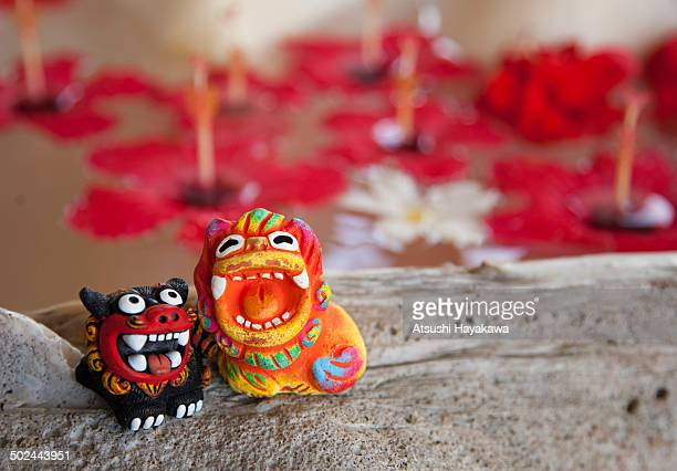 Shisa and a amulet