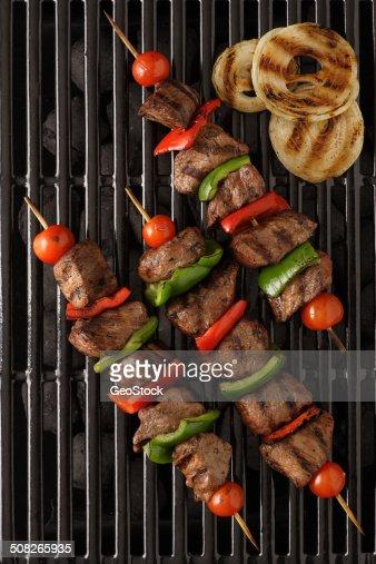 Shish kebab beef