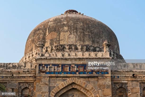 Shisha Gumbad Tomb Lodhi Lodi Gardens New Delhi India
