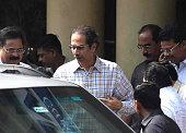 IND: Shiv Sena Chief Uddhav Thackeray Visits Lilavati Hospital To Meet Sanjay Raut