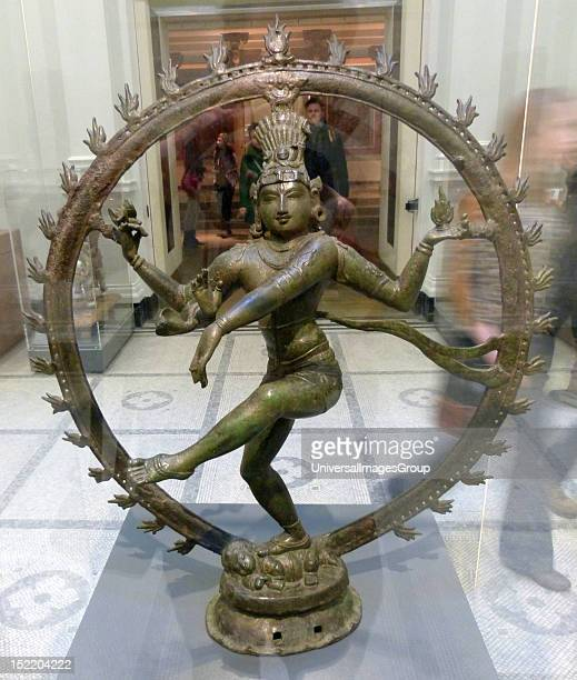 Shiva Nataraja Lord of the Dance Copper Alloy Southern India Late Pallava/early Chola period Shiva holds the drum