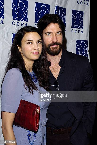 Shiva Rose and Dylan McDermott during 6th Annual Lullabies Luxuries Luncheon and fashion Show to Benefit Caring for Children Families With AIDS...
