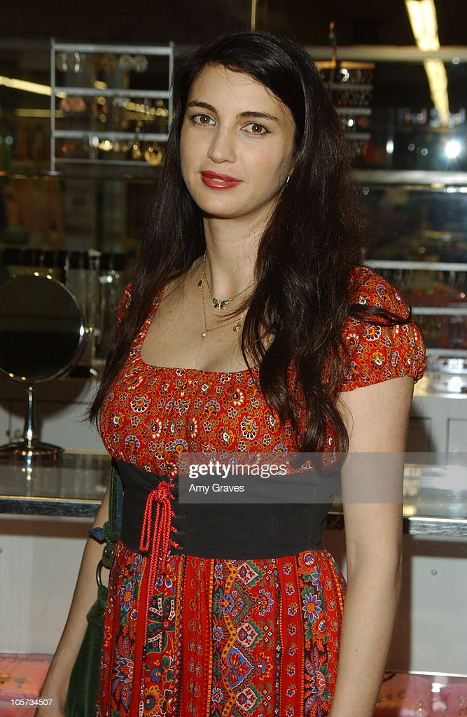 Shiva Rose McDermott during Vogue and Samsung Present the Anna Sui Mobile at Fred Segal Store in Santa Monica, California, United States.