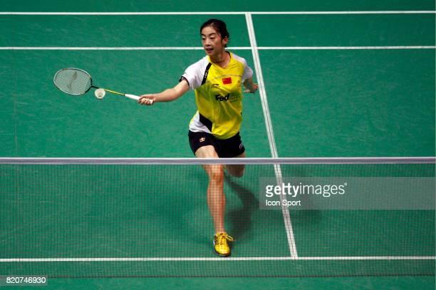 Shixian WANG Simple Femme Championnats du Monde de Badminton 2010 Stade Pierre de Coubertin Paris