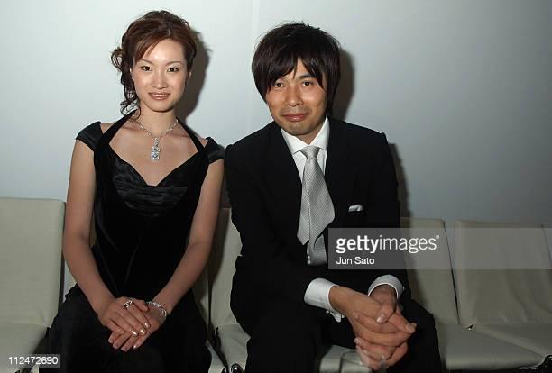 Shizuka Arakawa and Takayuki Ohira during BVLGARI 'Brilliant Dreams Award 2006' Inside at Grand Hyatt Tokyo in Tokyo Japan