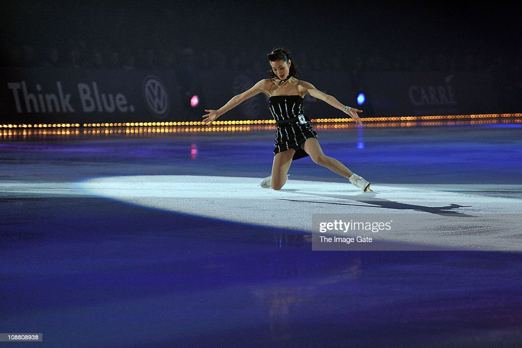 <a gi-track='captionPersonalityLinkClicked' href=/galleries/search?phrase=Shizuka+Arakawa&family=editorial&specificpeople=215456 ng-click='$event.stopPropagation()'>Shizuka Arakawa</a> performs during Art On Ice at Hallenstadion on February 3, 2011 in Zurich, Switzerland.