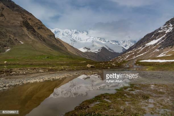 Shkhara Mountains ,Ushguli Village,Svaneti region,Georgia