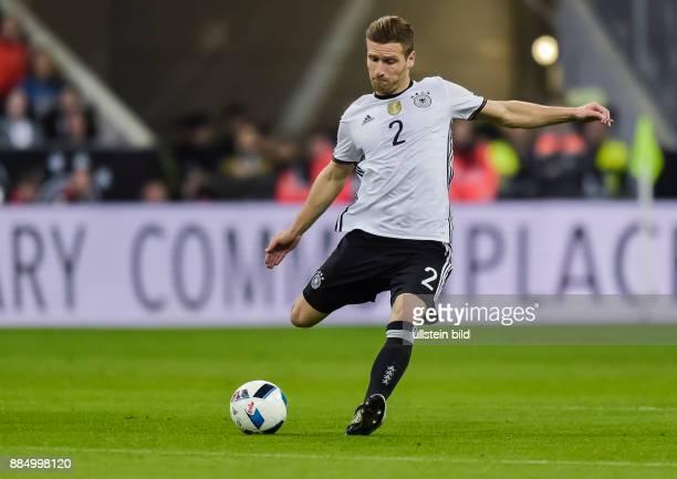 Shkodran Mustafi in Aktion waehrend dem Fussball Laenderspiel Deutschland gegen Italien in der Allianz Arena am 29 Maerz 2016 in Muenchen Endstand 41