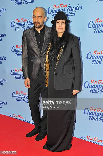 Shlomi Elkabetz and Ronit Elkabetz attend Day 6 of the Champs Elysees Film Festival on June 17 2014 in Paris France