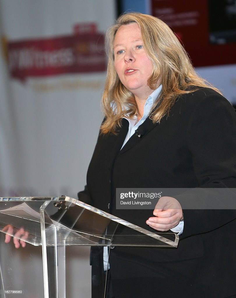 Shoah Foundation Director of Education Dr. Kori Street attends the 'Schindler's List' 20th Anniversary Limited Edition DVD/Blu-ray & USC Shoah Foundation's IWitness Video Challenge launch event at The Chandler School on February 27, 2013 in Pasadena, California.