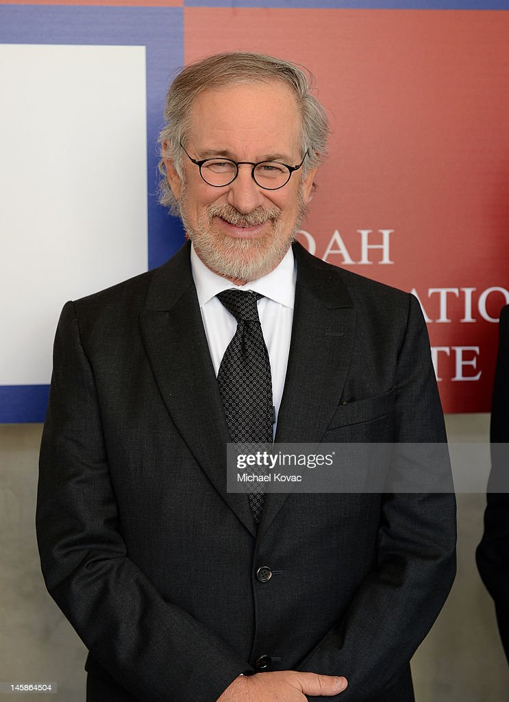 Shoah Foundation founder <a gi-track='captionPersonalityLinkClicked' href=/galleries/search?phrase=Steven+Spielberg&family=editorial&specificpeople=202022 ng-click='$event.stopPropagation()'>Steven Spielberg</a> attends the USC Shoah Foundation Institute Ambassadors for Humanity Gala held at the Grand Ballroom at Hollywood & Highland Center on June 6, 2012 in Hollywood, California.