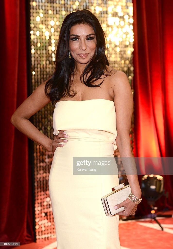 Shobna Gulati attends the British Soap Awards at Media City on May 18, 2013 in Manchester, England.