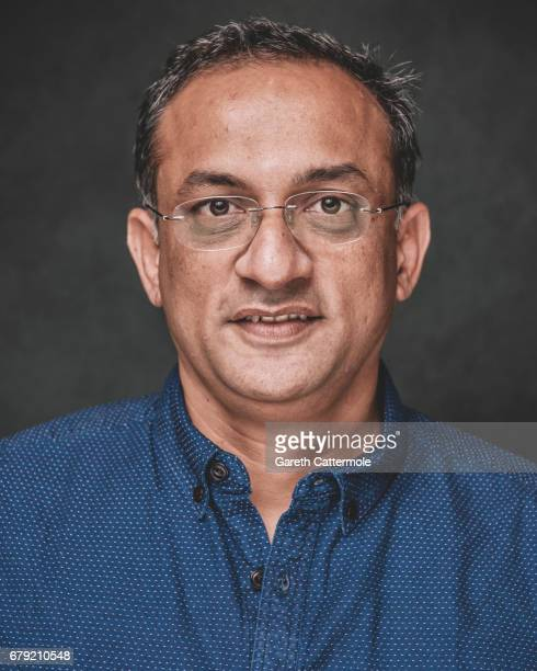 Shobu Yarlagadda is photographed at a portrait session ahead of the film release of 'Baahubali 2 The Conclusion' at BFI Southbank on May 2 2017 in...