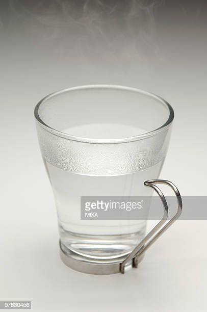 Shochu diluted with hot water