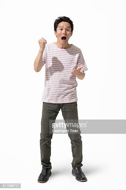 Shocked Man Gesturing