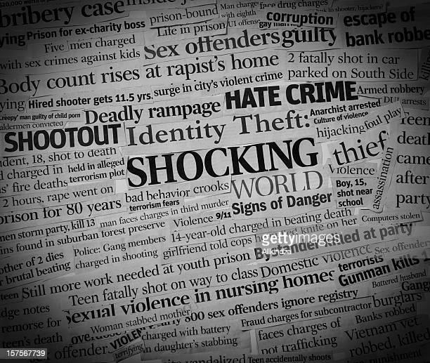 Shocking World headlines