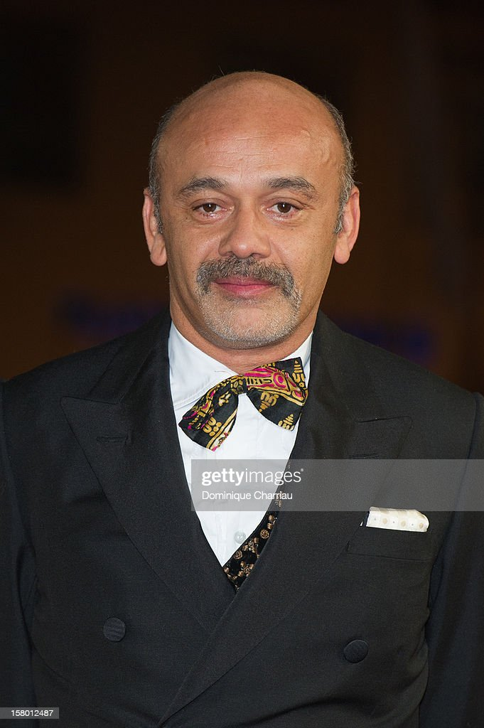 Shoe designer Christian Louboutin arrives to the awrard ceremony of the 12th International Marrakech Film Festival on December 8, 2012 in Marrakech, Morocco.