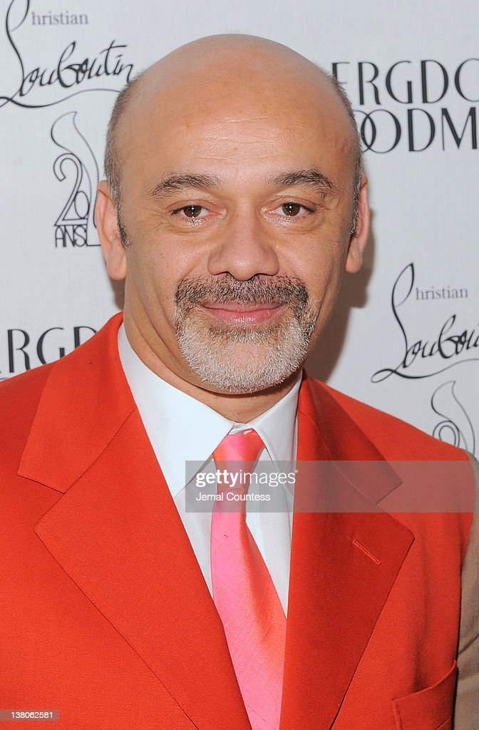 Shoe designer Christian Louboutin attends the 20th Anniversary Celebration Of Christian Louboutin at Bergdorf Goodman on February 1 2012 in New York...
