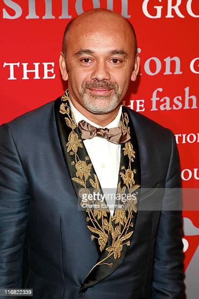 Shoe designer Christian Louboutin attends the 25th annual Night of Stars hosted by Fashion Group International at Cipriani Wall Street on October 23...