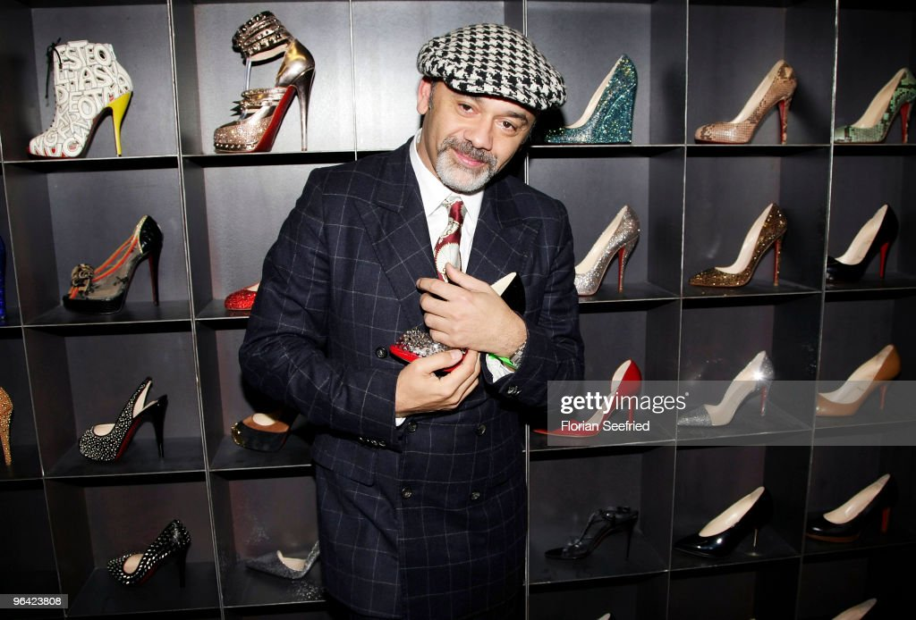 Entertainment Online Subscriptions GLR Included Shoe Designer Christian Louboutin attends the 'Christian Louboutin' cocktail reception at The Corner...