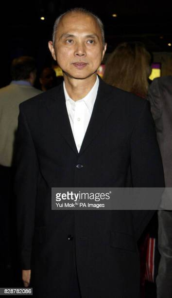 Shoe designer Jimmy Choo arriving for the UK premiere of 'Citizen Verdict' at the Warner Village cinema in Leicester Square London