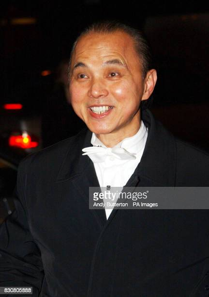 Shoe designer Jimmy Choo attends The White Masquerade Ball at the Hilton Hotel in London in aid of Sargent Cancer Care for Children