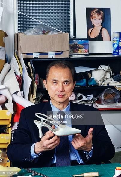 Shoe Designer Jimmy Choo In His Studio In London