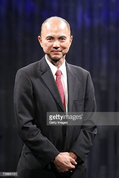 Shoe Designer Jimmy Choo smiles after recieving his Lifetime Achievement Award from the Minister of Culture Arts and Heritage on the third day of...
