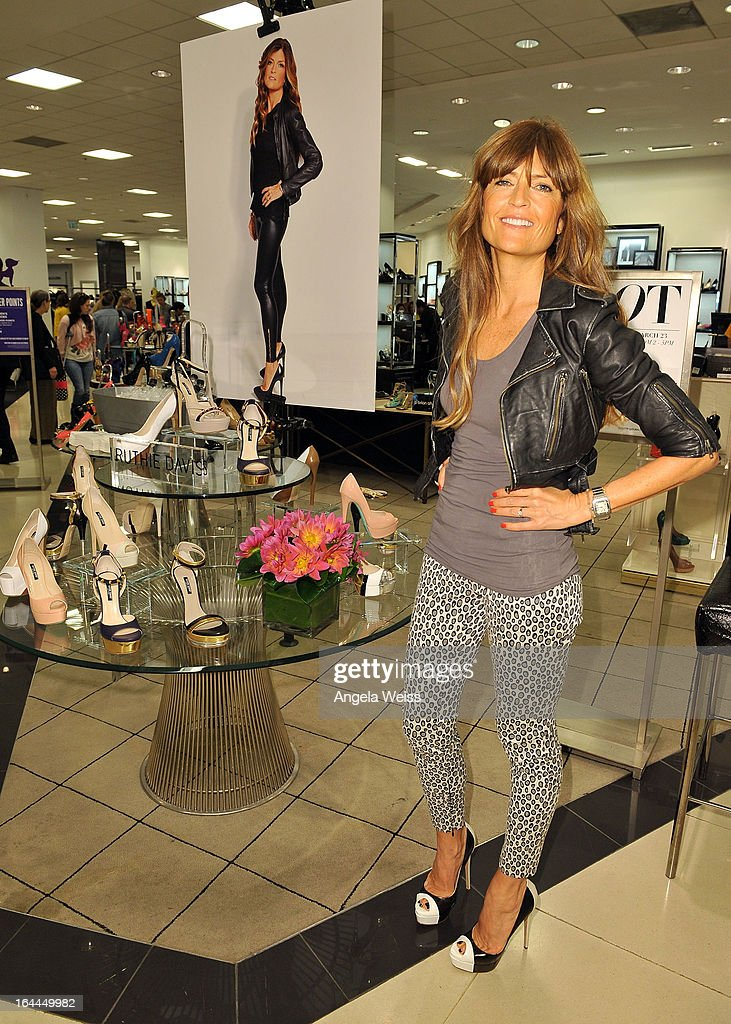Shoe designer Ruthie Davis attends the launch of Ruthie Davis' new collection at Bloomingdales Century City on March 23, 2013 in Century City, California.