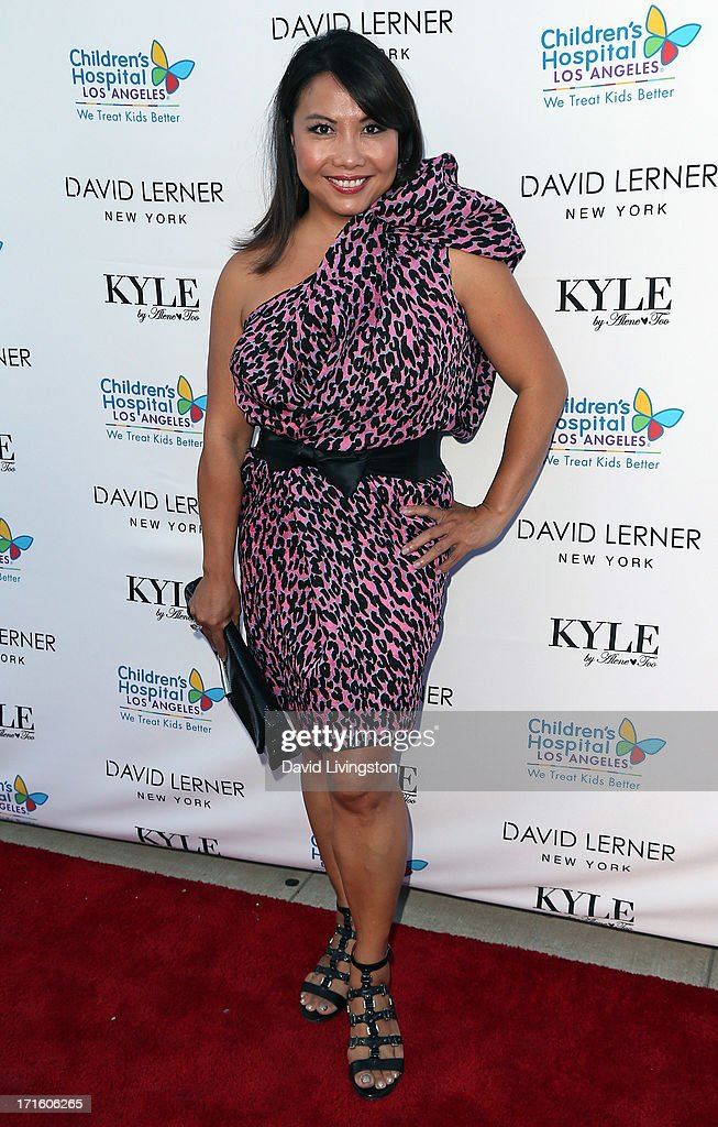 Shoe designer Taryn Rose attends a fashion fundraiser benefitting Children's Hospital of Los Angeles hosted by Kyle Richards at Kyle by Alene Too on June 26, 2013 in Beverly Hills, California.
