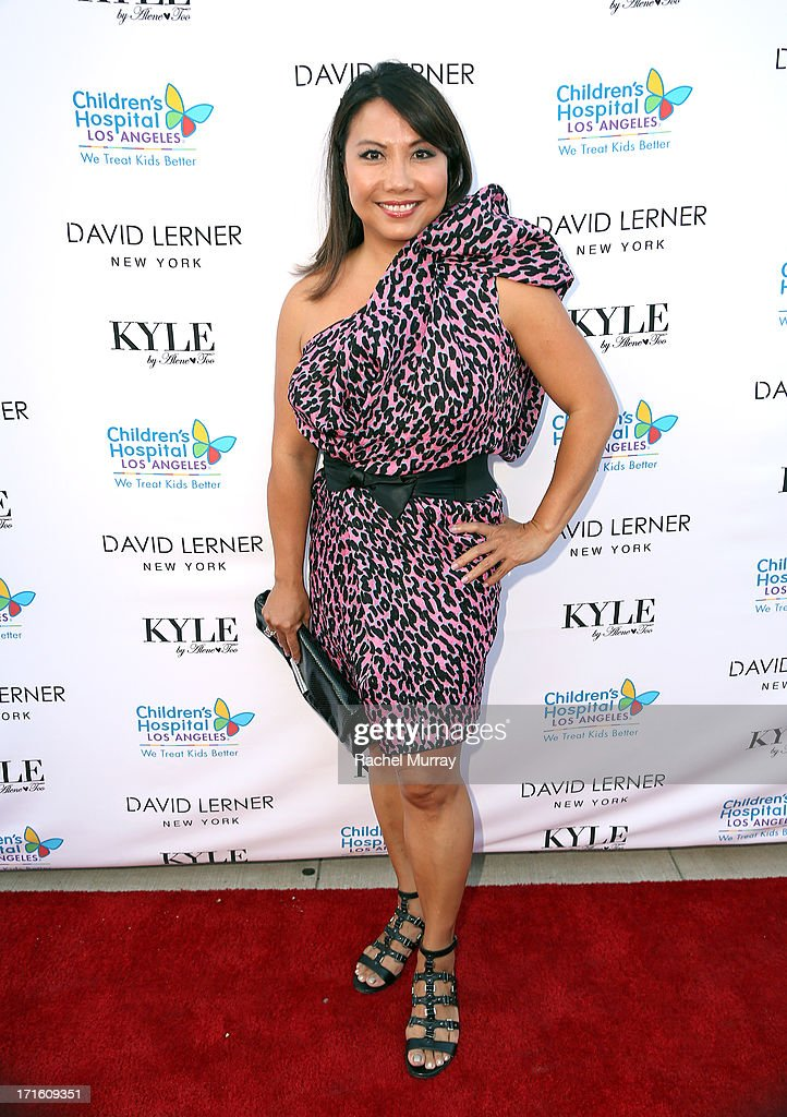 Shoe designer Taryn Rose attends Kyle Richards hosts a Fashion Fundraiser for Children's Hospital Los Angeles at Kyle By Alene Too on June 26, 2013 in Beverly Hills, California.