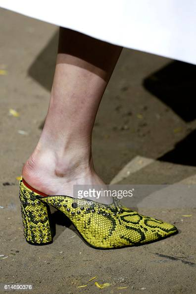 Shoe detail at the 31 Phillip Lim show at Skylight Clarkson North on September 12 2016 in New York City
