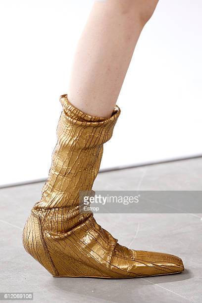 Shoe detail at the Rick Owens show as part of the Paris Fashion Week Womenswear Spring/Summer 2017 on September 29 2016 in Paris France