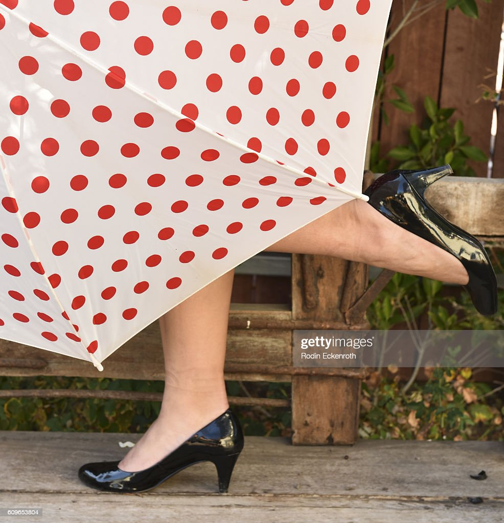 Shoe fashion detail at The Starving Artists Project on September 21, 2016 in Los Angeles, California.