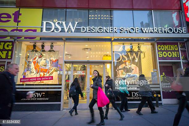 A DSW shoe store in Herald Square in New York on Tuesday March 17 2015 DSW announced that they will be expanding their offerings of children's...