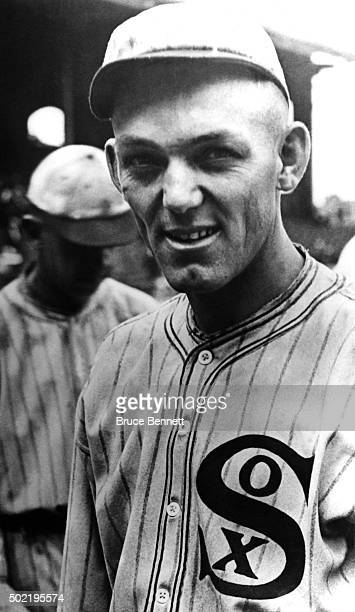'Shoeless' Joe Jackson of the Chicago White Sox poses for a portrait circa 1919 at Comiskey Park in Chicago Illinois