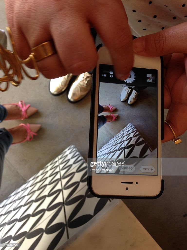 Shoes and phones