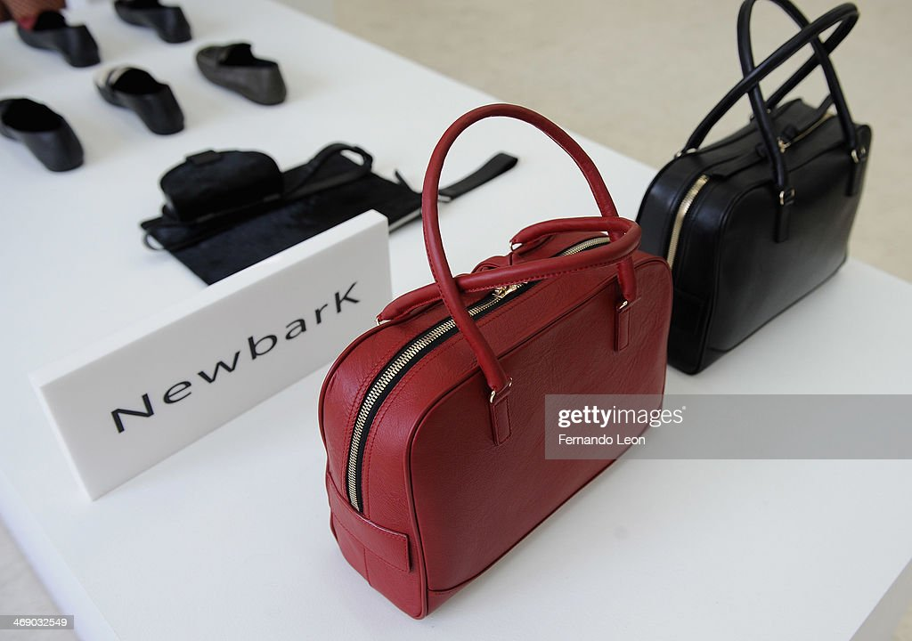 Shoes and purses pictured during the Newbark presentation during Mercedes-Benz Fashion Week Fall 2014 on February 12, 2014 in New York City.