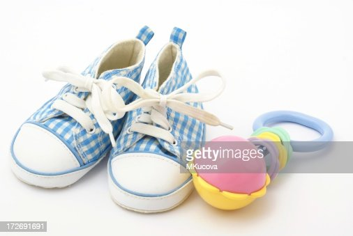 Shoes and rattle