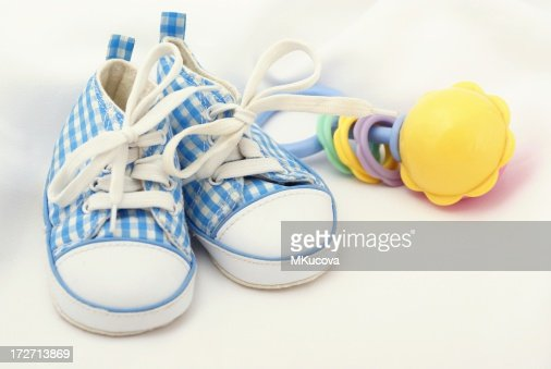 Shoes and toy