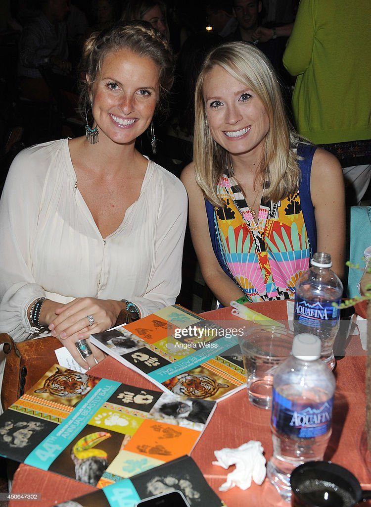 Shoes Chief Animal Lover Heather Mycoskie and Brittany Mycoskie attend the Greater Los Angeles Zoo Association's (GLAZA) 44th Annual Beastly Ball at Los Angeles Zoo on June 14, 2014 in Los Angeles, California.