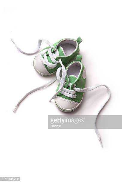 Shoes: Green Baby Shoe