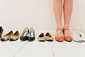 Shoes in a row