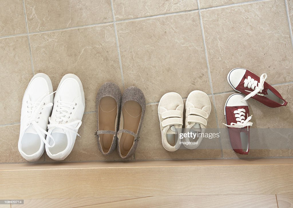 Shoes in entrance