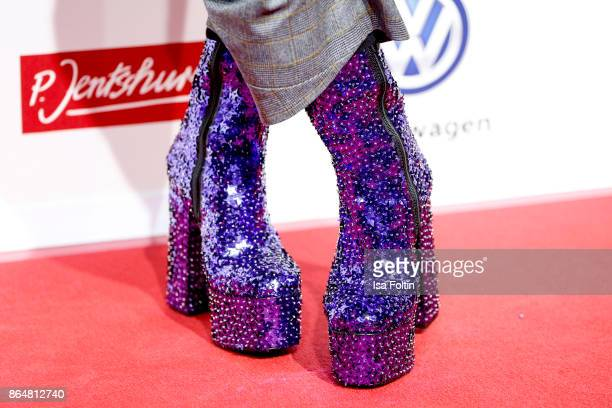Shoes of Jorge Gonzalez as a detail during the 'Goldene Bild der Frau' award at Hamburg Cruise Center on October 21 2017 in Hamburg Germany