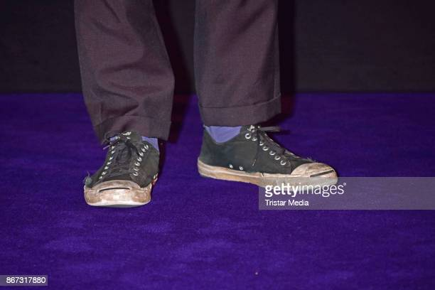 Shoes of Lars Eidinger as a detail during the German premiere 'Mathilde' at Kino Kulturbrauerei on October 27 2017 in Berlin Germany