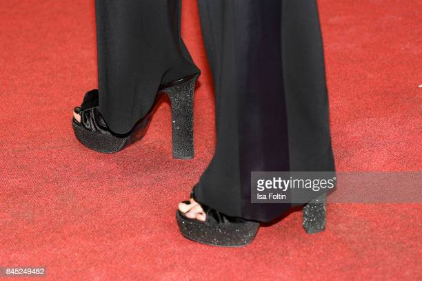 Shoes of model Anna Hiltrop as a detail during a QVC event during the Vogue Fashion's Night Out on September 8 2017 in duesseldorf Germany