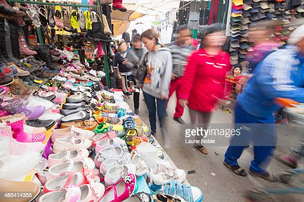 Shoes on sale at the Black Market