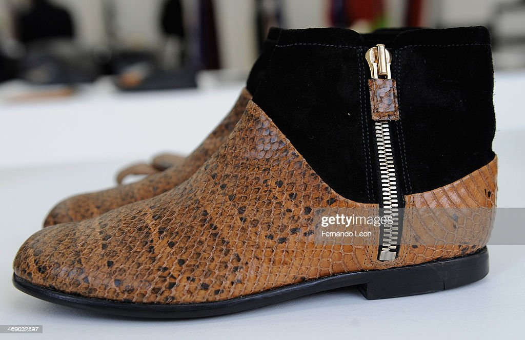 Shoes pictured during the Newbark presentation during Mercedes-Benz Fashion Week Fall 2014 on February 12, 2014 in New York City.